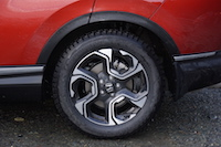 2017 Honda CR-V Touring wheels tires