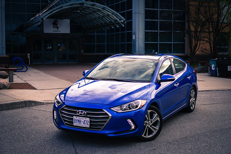 2017 Hyundai Elantra Limited Marina Blue Canada review