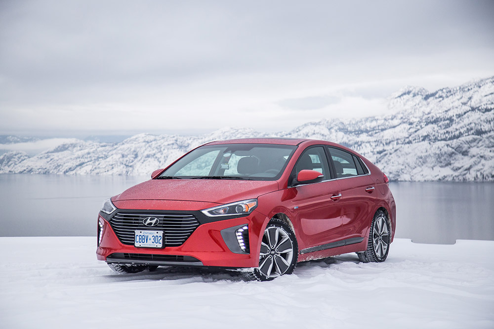 2017 Hyundai Ioniq Electric canada review price