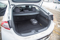 2017 Hyundai Ioniq Electric trunk space