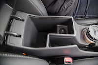 2017 Hyundai Ioniq Hybrid center console storage