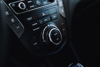 2017 Hyundai Santa Fe XL hvac buttons and controls
