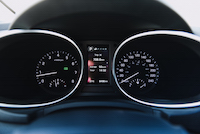 2017 Hyundai Santa Fe XL gauges