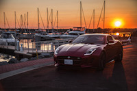 2017 Jaguar F-Type V6 S Coupe Manual italian racing red paint