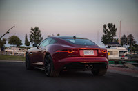 2017 Jaguar F-Type V6 S Coupe Manual central dual exhaust