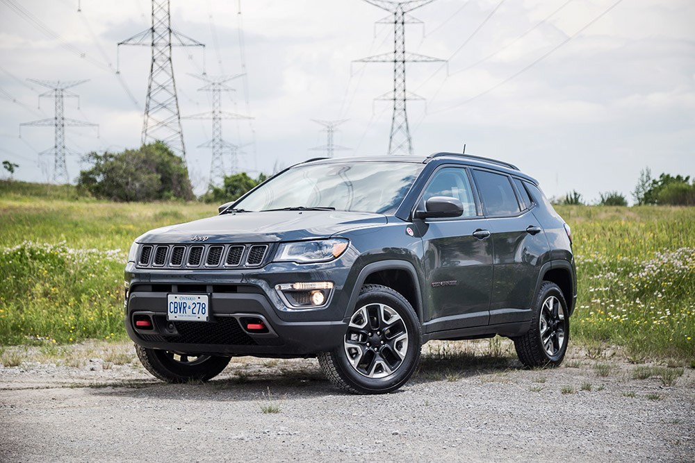 2017 Jeep Compass Trailhawk canada review new used price