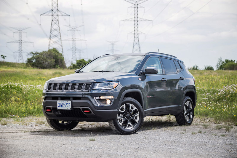 2017 Jeep Compass Trailhawk canada