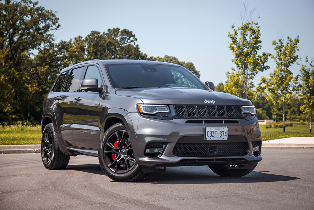 2017 Jeep Grand Cherokee SRT canada review