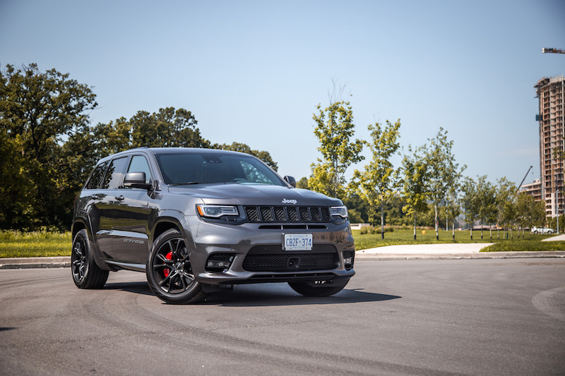 2017 Jeep Grand Cherokee SRT front