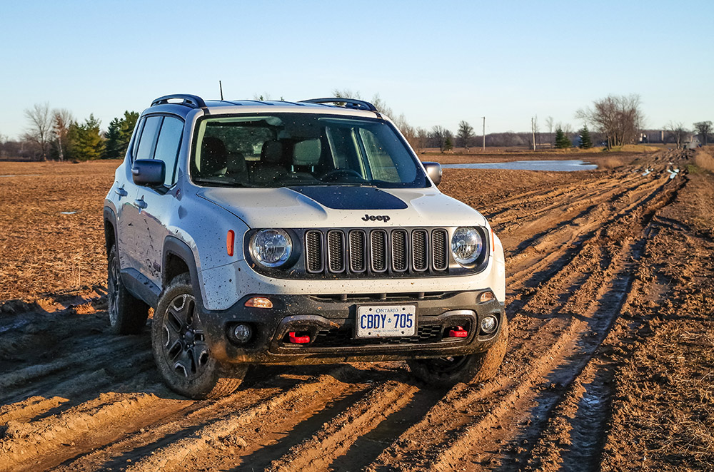 2017 Jeep Renegade Trailhawk review new for 2017 model year