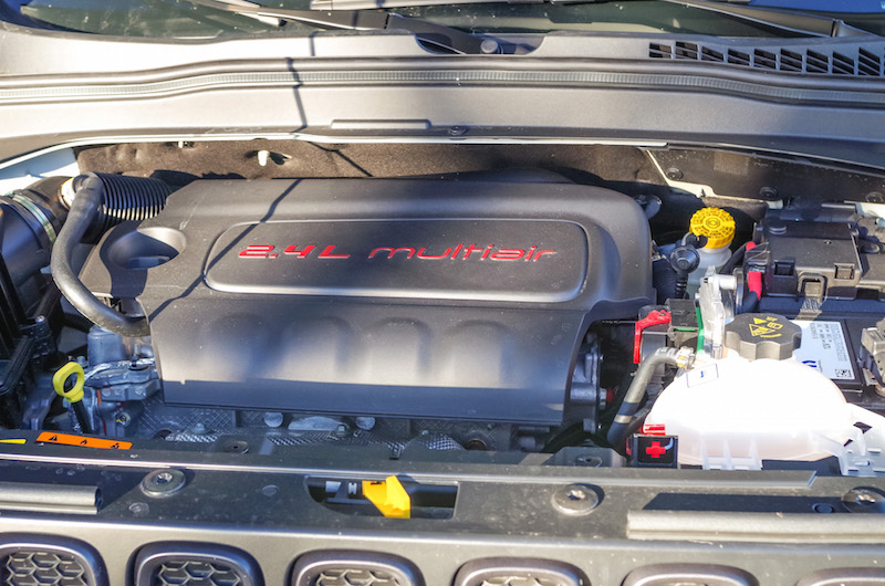 2017 Jeep Renegade Trailhawk multiair engine bay