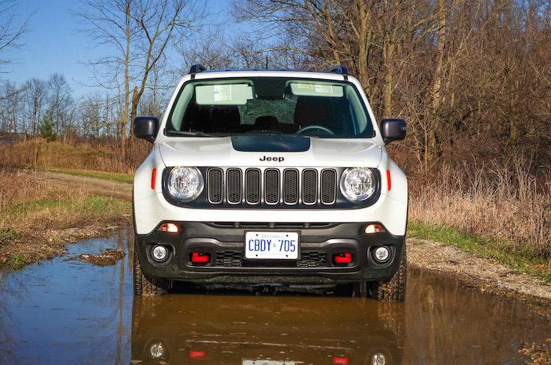 2017 Jeep Renegade Trailhawk new