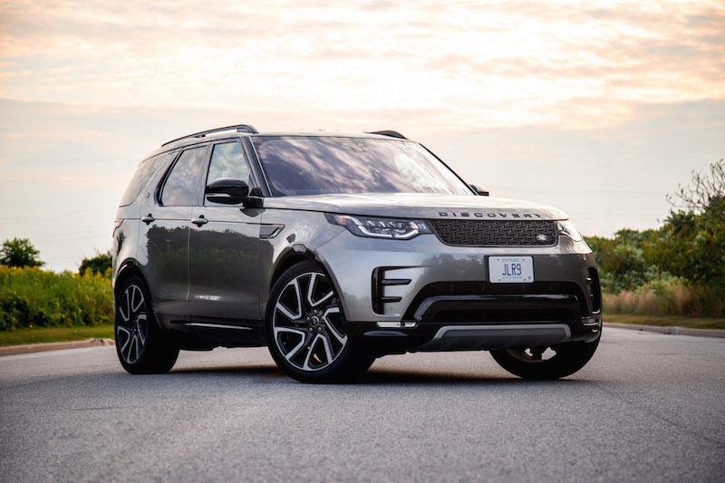 2017 Land Rover Discovery HSE silicon silver paint