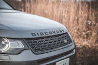 2017 Land Rover Discovery Sport front grill black