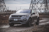 2017 Land Rover Discovery Sport new grill blacked out
