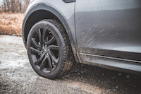 2017 Land Rover Discovery Sport 20 inch wheels black