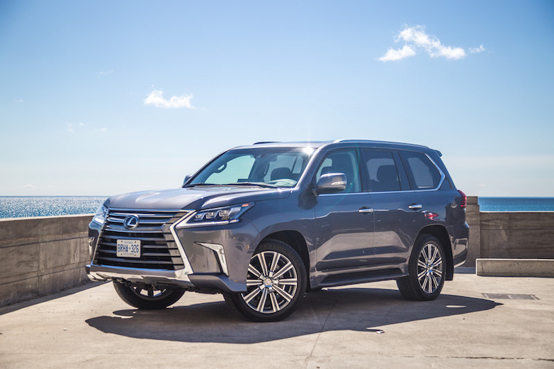 2017 Lexus LX 570 head lights grill wheels