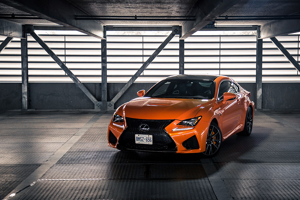 lexus rc f chinese review