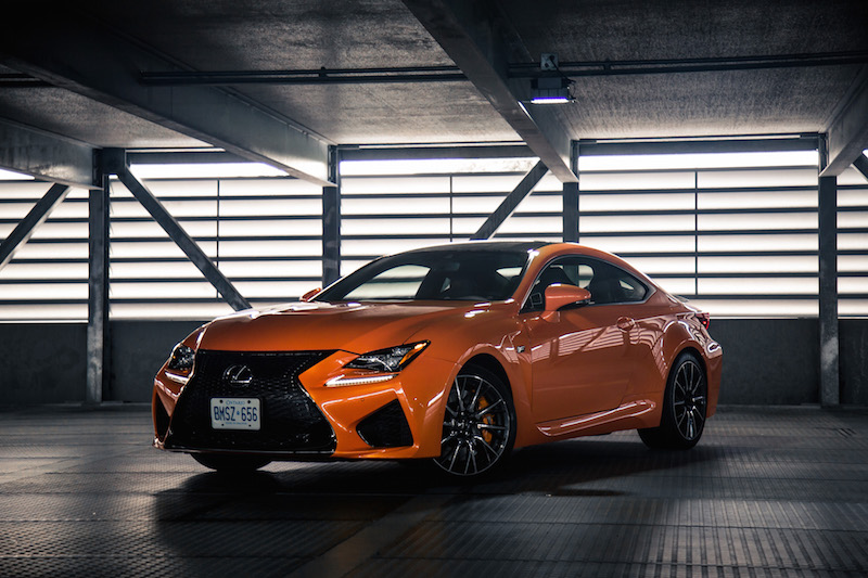 2017 Lexus RC F new