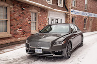 2017 Lincoln Continental new used