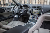 2017 Lincoln Continental beige black interior