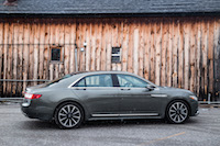 2017 Lincoln Continental reserve awd 3.0t