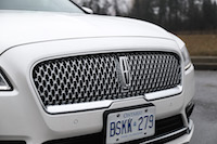 2017 Lincoln Continental Reserve AWD front grill jaguar