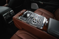 2017 Lincoln Continental Reserve AWD rear seat package