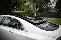 2017 Lincoln MKZ Reserve 3.0T panoramic sun roof