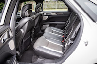 2017 Lincoln MKZ Reserve 3.0T rear seats
