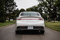 2017 Lincoln MKZ Reserve 3.0T rear exhausts
