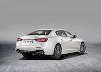 2017 Maserati Quattroporte gransport spoiler new quad exhausts