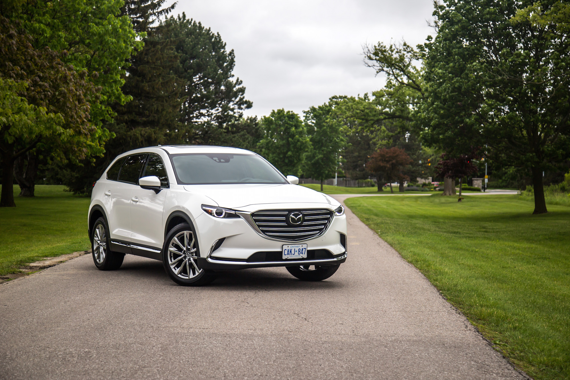 review 2017 mazda cx 9 signature awd canadian auto review. Black Bedroom Furniture Sets. Home Design Ideas