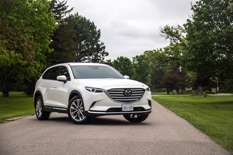 2017 Mazda CX-9 Signature AWD new for model year canada