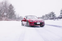2017 Mazda MX-5 GT with snow tires