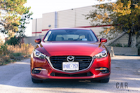 2017 Mazda3 GT red paint