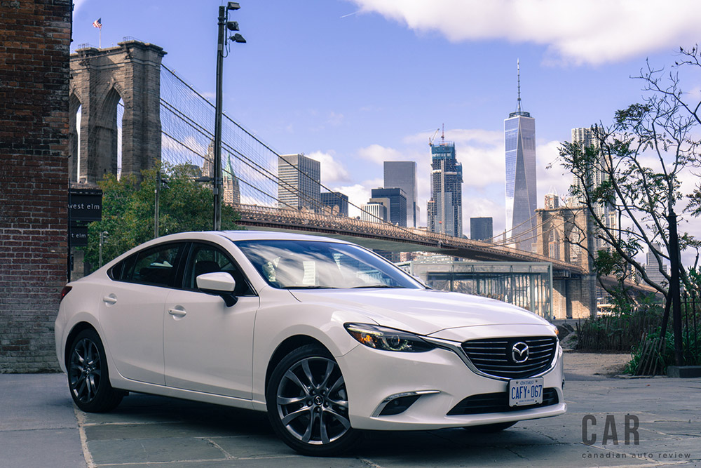 2017 Mazda6 GT canada review