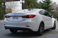2017 Mazda6 GT rear view