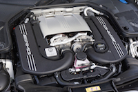 2017 Mercedes-AMG C 63 S engine