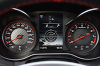 2017 Mercedes-AMG C 63 S gauges