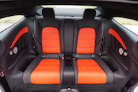 2017 Mercedes-AMG C 63 S rear seats