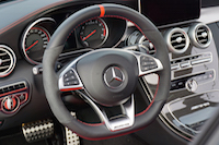 2017 Mercedes-AMG C 63 S interior steering wheel