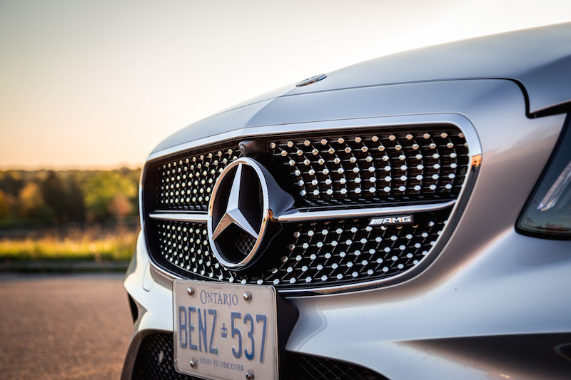 2017 Mercedes-AMG E43 diamond front grill