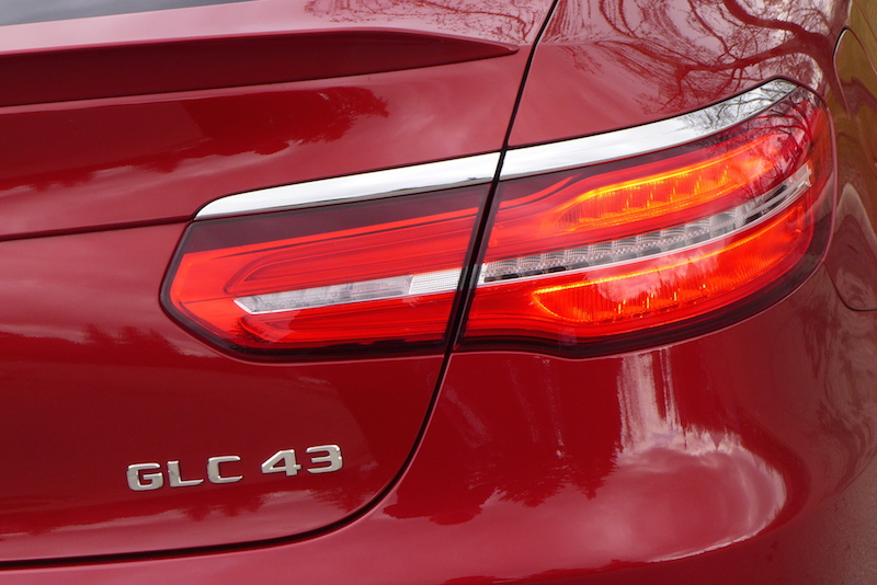 2017 Mercedes-AMG GLC 43 4MATIC Coupe tail lights
