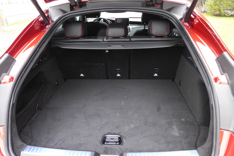 2017 Mercedes-AMG GLC 43 4MATIC Coupe trunk space hatchback