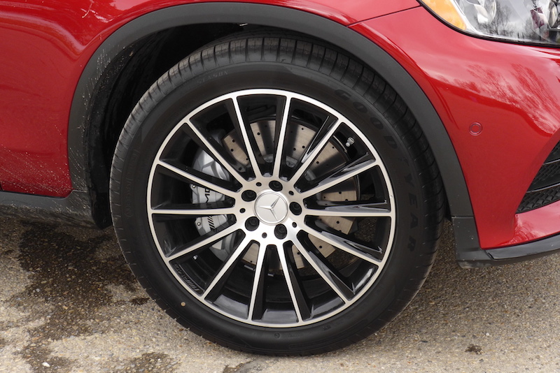 2017 Mercedes-AMG GLC 43 4MATIC Coupe wheels tires