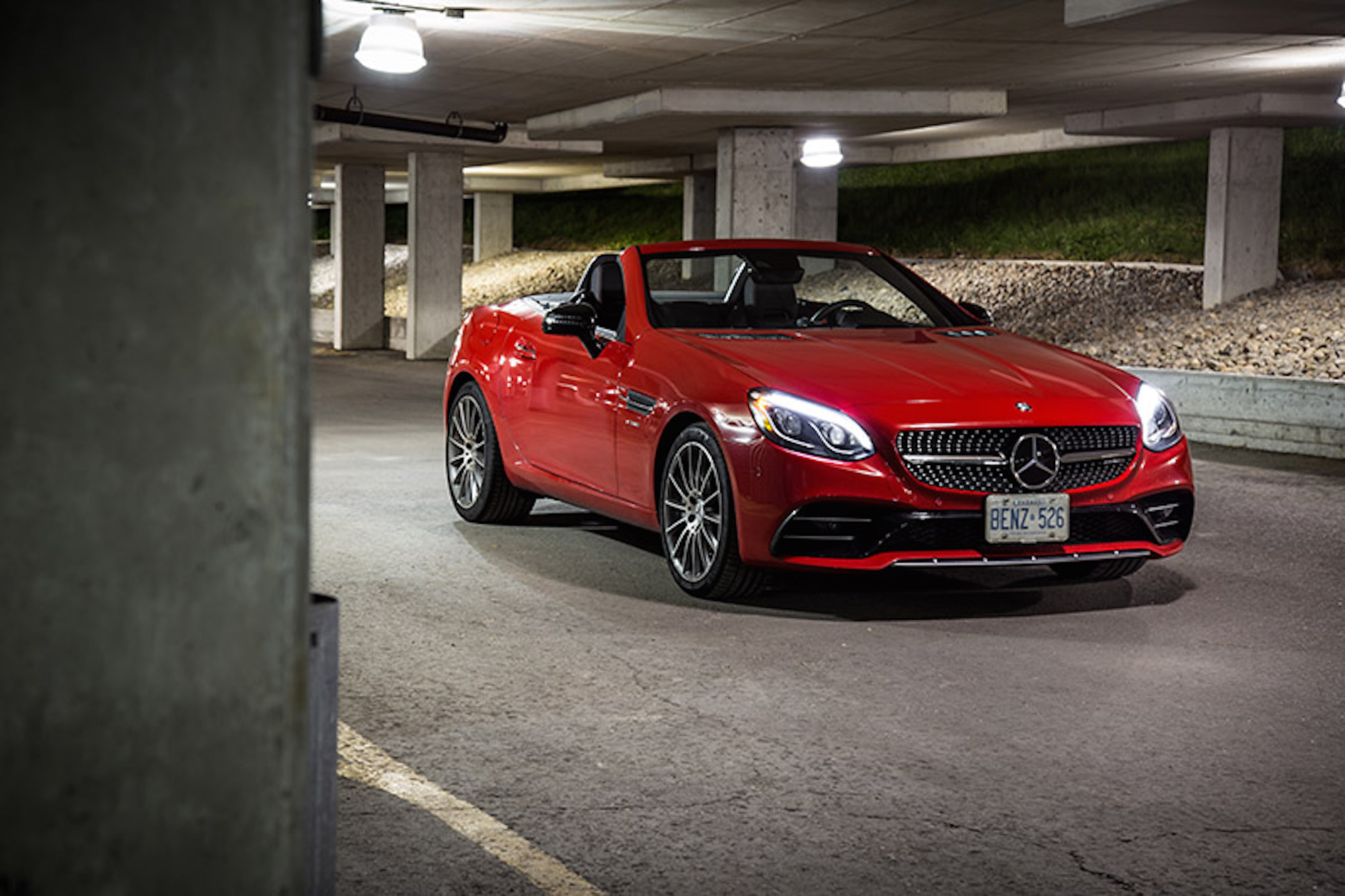 2017 mercedes-amg slc 43 chinese review