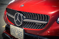 2017 Mercedes-AMG SLC 43 diamond grill