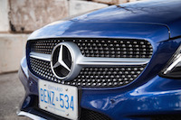 2017 Mercedes-Benz C Class Coupe sport chrome grill