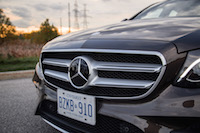 2017 Mercedes-Benz E300 4MATIC new grill front